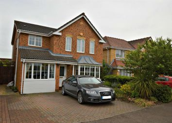 Thumbnail 4 bedroom detached house for sale in Asquith Drive, Highwoods, Colchester