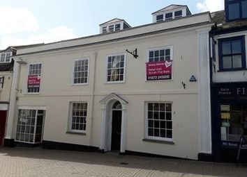 Thumbnail Retail premises for sale in 19-19A Pydar Street, Truro, Cornwall