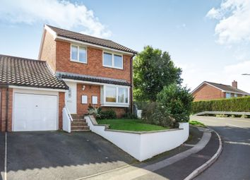 Thumbnail 3 bed detached house for sale in Greenwood Park Close, Plympton, Plymouth