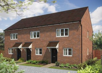 "Thumbnail 2 bed terraced house for sale in ""The Hawthorn"" at St. James Way, Biddenham, Bedford"