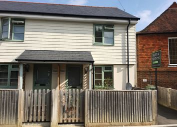 Thumbnail 1 bed semi-detached house to rent in Parbrook, Billingshurst