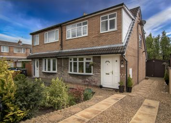 Thumbnail 3 bed semi-detached house for sale in Thornfield, Much Hoole, Preston