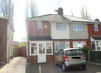 Thumbnail 1 bed flat to rent in Crathorne Avenue, Wolverhampton