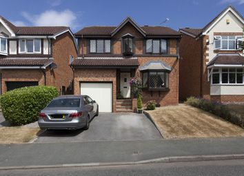 Thumbnail 4 bed detached house for sale in Field Lane, Crewe