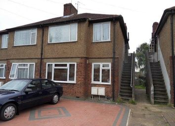 Thumbnail 2 bedroom maisonette to rent in Braund Avenue, Greenford