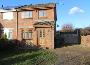 Thumbnail 3 bed semi-detached house for sale in Hornsea Close, Billingham