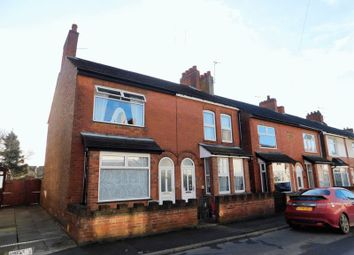 Thumbnail 2 bed semi-detached house for sale in Highfield Street, Hugglescote, Coalville