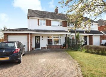 Thumbnail 3 bed semi-detached house for sale in Rochester Avenue, Woodley, Reading