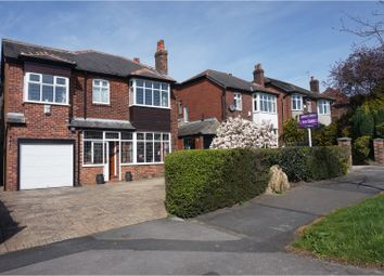 Thumbnail 5 bed detached house for sale in Compstall Road, Romiley