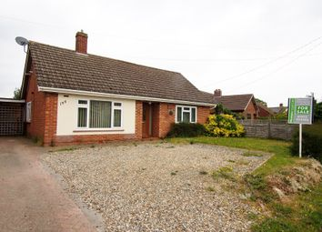 Thumbnail 2 bed detached bungalow for sale in Besthorpe Road, Attleborough