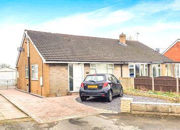 Thumbnail 2 bed semi-detached bungalow to rent in Stock Lane, Wybunbury