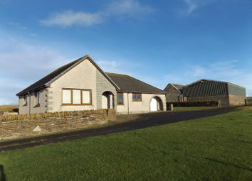 Thumbnail 3 bed detached bungalow for sale in Roster, Lybster