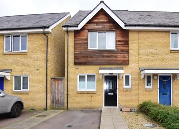 Thumbnail 2 bed end terrace house for sale in Robinson Way, Northfleet, Gravesend, Kent