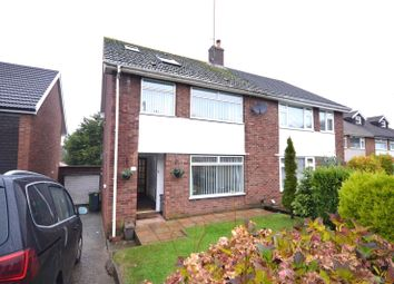 Thumbnail 3 bed semi-detached house for sale in Woolaston Avenue, Lakeside, Cardiff