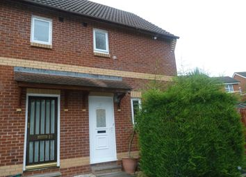 Thumbnail 2 bed semi-detached house to rent in Wordsworth Close, Exmouth