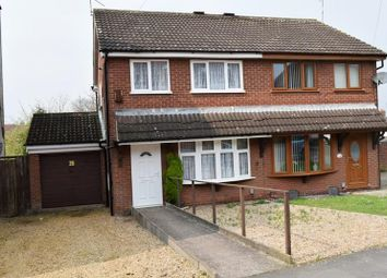 Thumbnail 3 bed semi-detached house for sale in Jubilee Terrace, Orchard Street, Bedworth