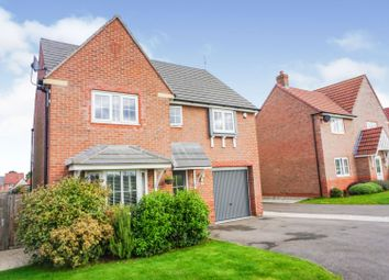 Thumbnail 4 bed detached house for sale in May Drive, Glenfield, Leicester