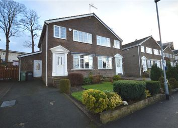 Thumbnail 3 bed semi-detached house for sale in Greenacre Park Rise, Rawdon, Leeds, West Yorkshire