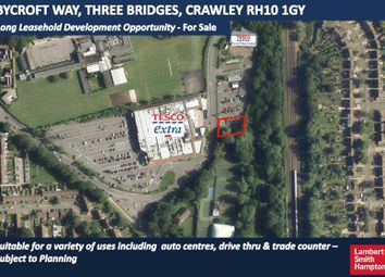 Thumbnail Commercial property for sale in Land At Bycroft Way, Three Bridges, Crawley
