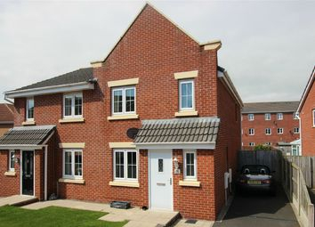 Thumbnail 4 bed semi-detached house for sale in 30 Lowry Gardens, Carlisle, Cumbria