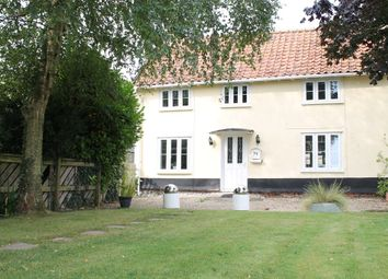 Thumbnail 3 bed semi-detached house for sale in The Street, North Lopham, Diss