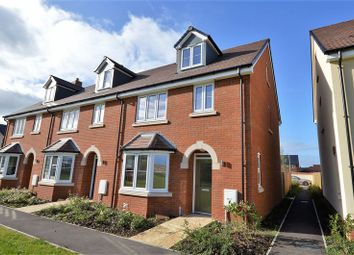 Thumbnail 4 bed end terrace house for sale in Haddenham Business, Pegasus Way, Haddenham, Aylesbury