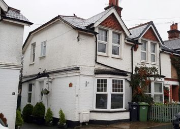 Thumbnail 1 bed flat for sale in First Floor Flat, Woodcote Side, Epsom, Surrey