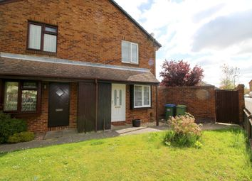 Thumbnail 1 bedroom end terrace house to rent in Woodrush Crescent, Locks Heath, Southampton