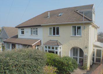 Thumbnail 3 bed semi-detached house to rent in Glen Road, West Cross, Swansea