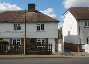 Thumbnail 1 bed end terrace house for sale in Howland Cottages, Howland Road, Marden, Tonbridge