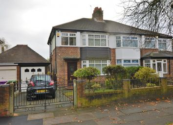 Thumbnail 3 bed semi-detached house for sale in Bowring Park Road, Broadgreen, Liverpool