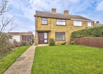 Thumbnail 3 bed semi-detached house for sale in Kisby Avenue, Godmanchester, Huntingdon, Cambs