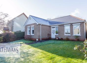 Thumbnail Detached bungalow for sale in Lowlands Crescent, Pontnewydd, Cwmbran