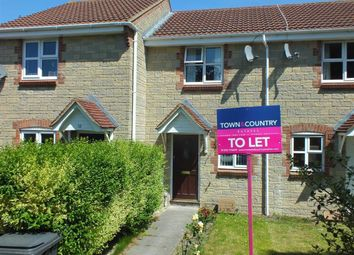 Thumbnail 2 bedroom terraced house to rent in Nightingale Drive, Westbury, Wiltshire