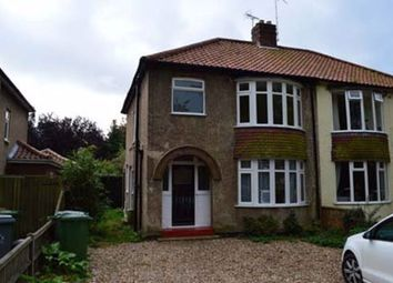 Thumbnail 3 bed property to rent in Plumstead Road East, Norwich