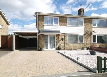 Thumbnail 4 bedroom semi-detached house for sale in Borrowdale Drive, Norwich