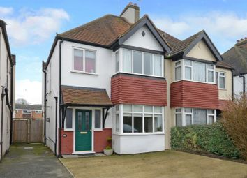Thumbnail 3 bed semi-detached house for sale in Walton Road, West Molesey