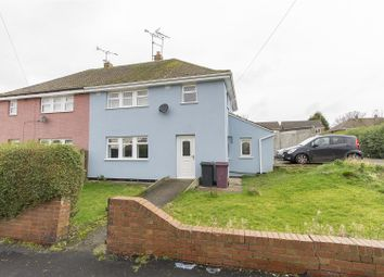 Thumbnail 3 bed semi-detached house for sale in Meadow Road, Clay Cross, Chesterfield