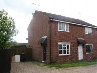 Thumbnail 2 bed terraced house to rent in Kipling Way, Stowmarket, Suffolk