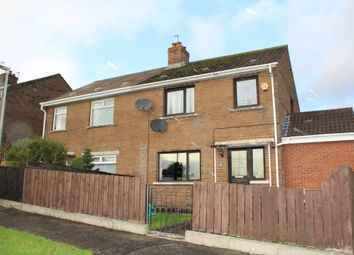 Thumbnail 3 bed semi-detached house for sale in Brooklands Drive, Dundonald, Belfast