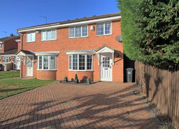 Thumbnail 3 bed semi-detached house for sale in Delfcroft, Ware