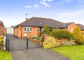 Thumbnail 2 bed semi-detached bungalow for sale in Castle Hill, East Leake, Loughborough