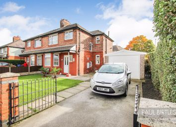 Thumbnail 3 bed semi-detached house for sale in Derbyshire Crescent, Stretford