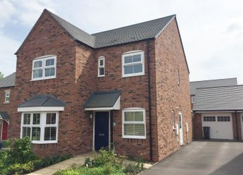 Thumbnail 4 bed detached house for sale in Poppy Close, Tutbury, Burton-On-Trent