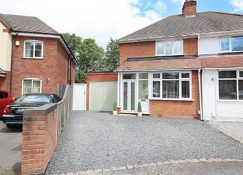 Thumbnail 2 bed semi-detached house for sale in Ringswood Road, Solihull