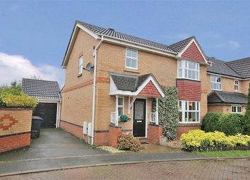 Thumbnail 3 bed detached house for sale in Millstone Close, Hunsbury Meadows, Northampton