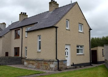 Thumbnail 2 bed semi-detached house for sale in 5 Sinclair Square, Halkirk