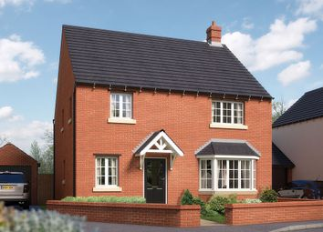 "Thumbnail 4 bed detached house for sale in ""The Canterbury"" at Towcester Road, Silverstone, Towcester"