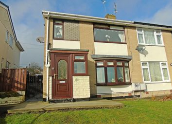 Thumbnail 2 bed semi-detached house for sale in Gallagher Crescent, Peterlee
