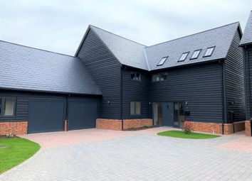 Thumbnail 5 bedroom detached house for sale in Church Farm Court, Roxton